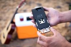 La custodia dedicata per lo smartphone