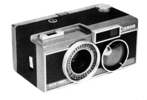 Il prototipo Canon Auto Focus del 1963, fotografia restaurata dell'unica disponibile e quasi introvabile