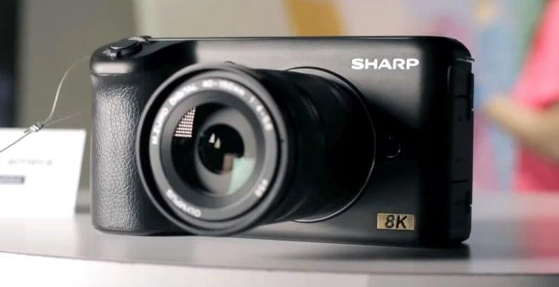 Sharp 8K, camera