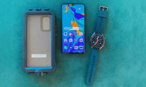 photojournal, huawei, p30 pro, snorkeling case